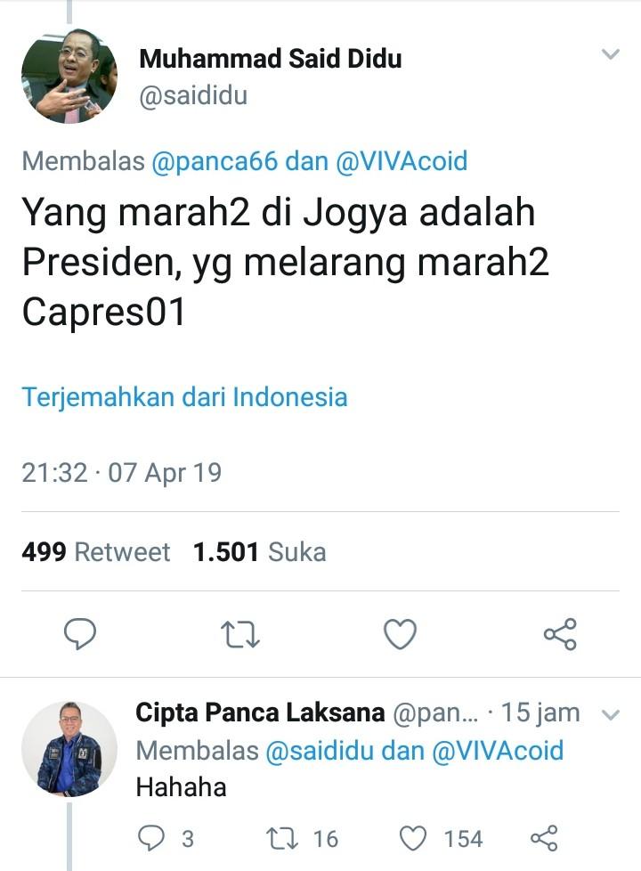 Jokowi Singgung Kampanye Jangan Marah-Marah,  2 Tokoh BPN Sindir Telak