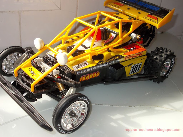 Kyosho Icarus Rebuild and Restoration (Refurbish)