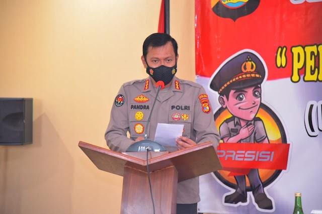 Polda Lampung sampaikan SOP Pengaduan dan Laporan ke Polri