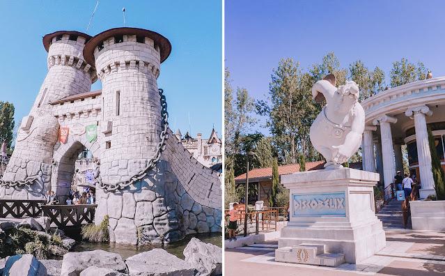 Parc Astérix - Parque de diversões do personagem Asterix - Perto de Paris