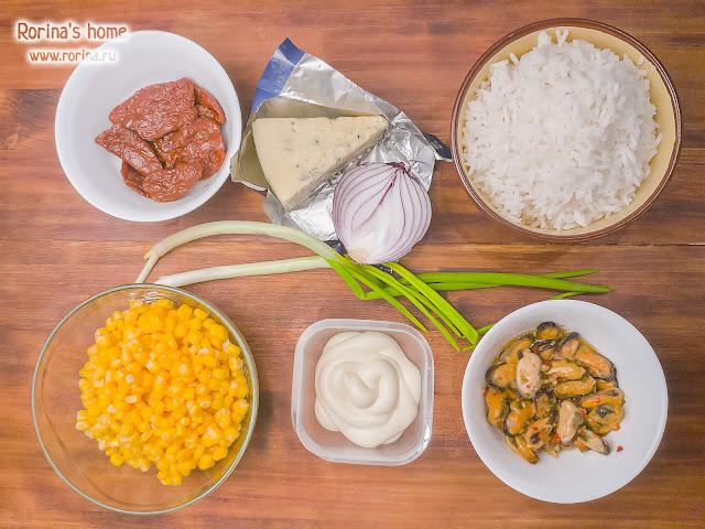 Рецепт с морепродуктами, сыром и томатами: рецепт с фото