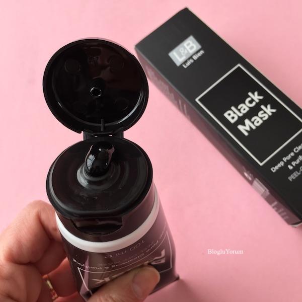 luis bien arındırıcı soyulabilir siyah maske 1