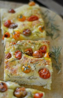 Focaccia with Caramelized Onion