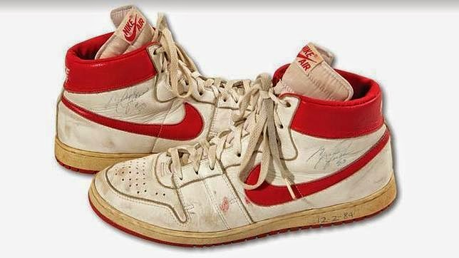 Subastan zapatillas de Jordan por 65.000 euros