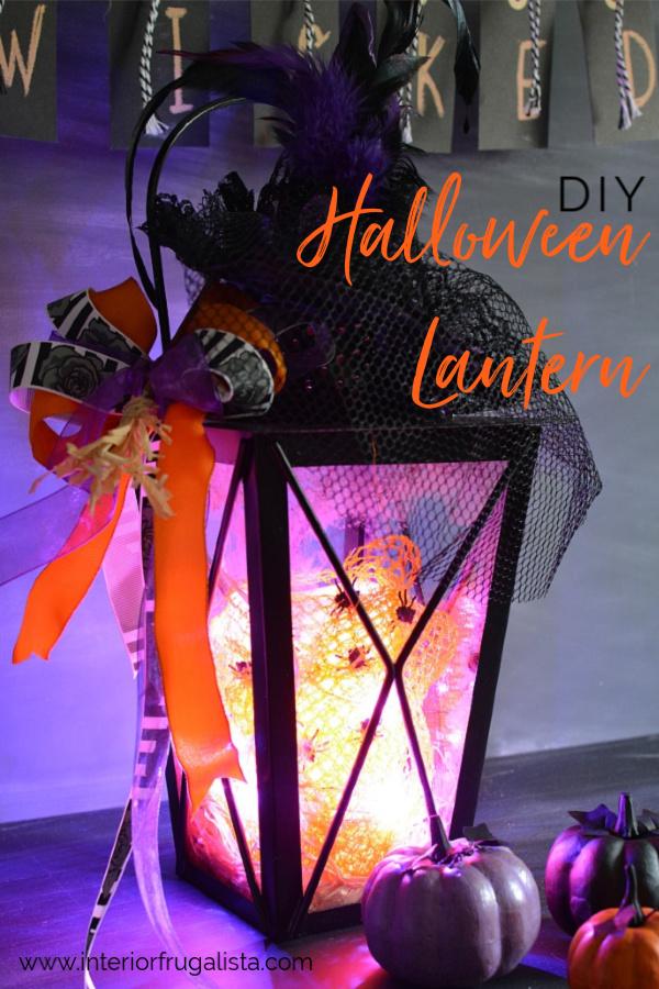 Easy DIY Halloween Lantern