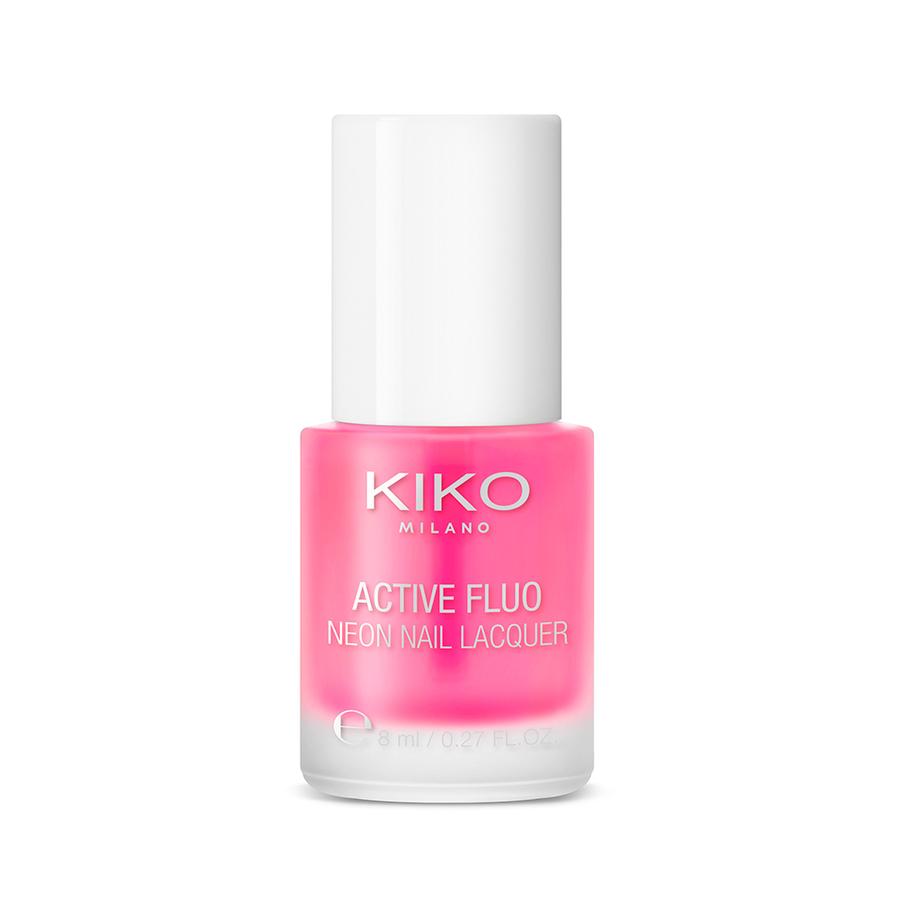 Capsule collection Mayo Active Fluo KIKO MILANO nail lacquer laca de uñas