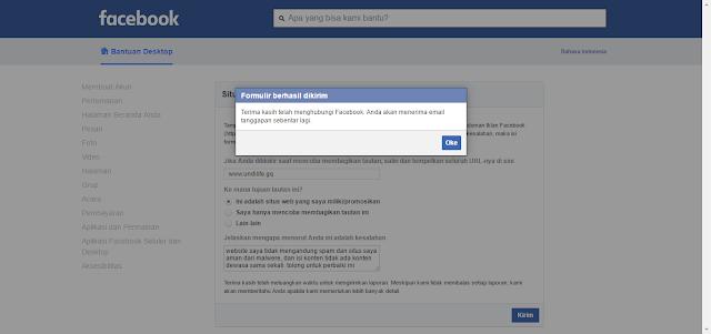 Cara mengatasi URL Blog yang di Blockir Facebook