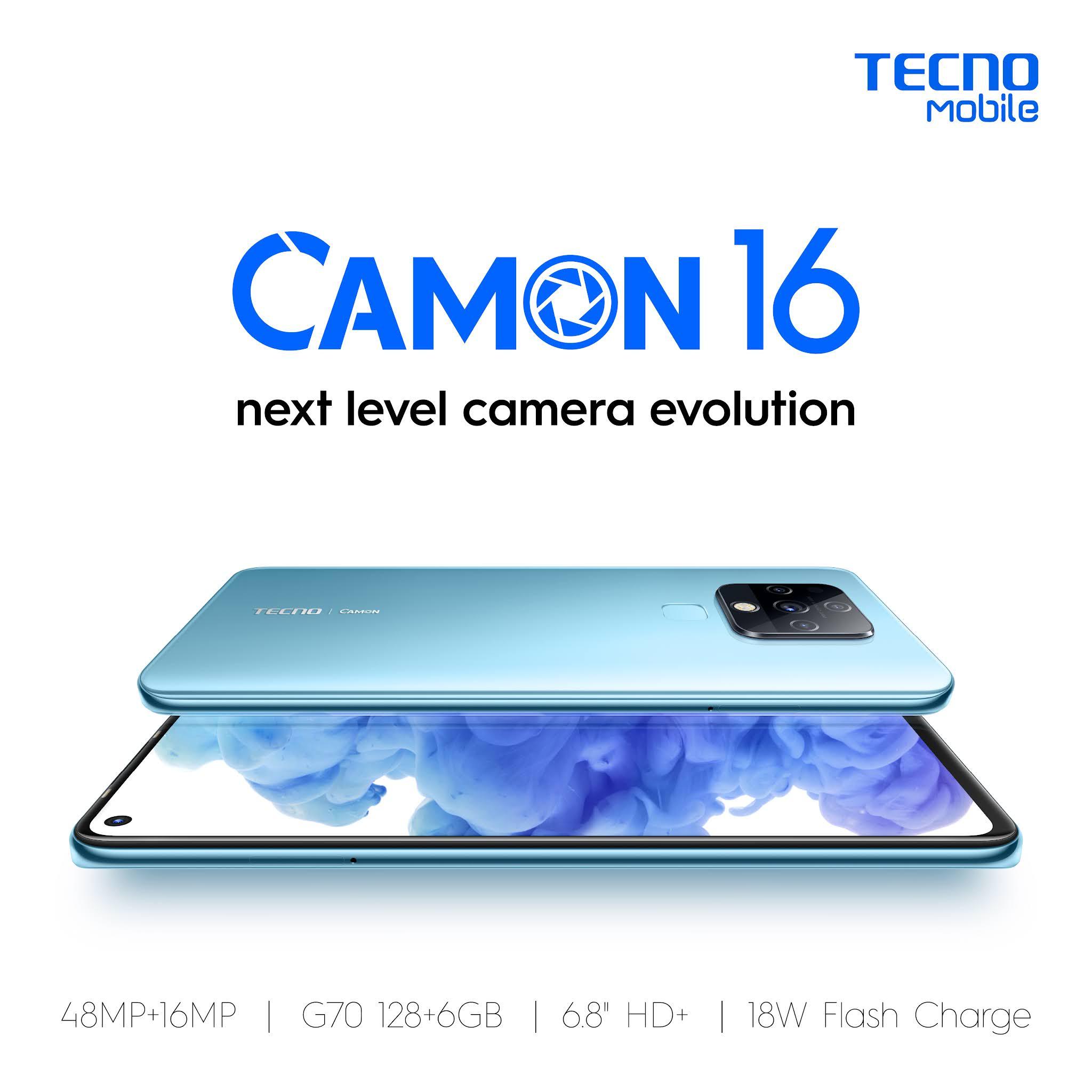 TECNO Mobile CAMON 6