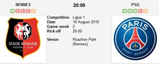 مشاهدة مباراة باريس سان جيرمان ورين بث مباشر 18/08/2019 الدوري الفرنسي