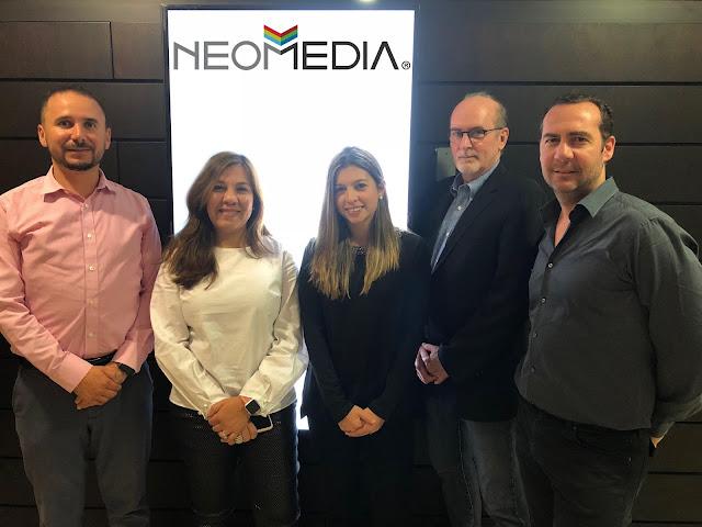 Representantes de Scala y Stratacache visitaron a su partner Neomedia en Ecuador
