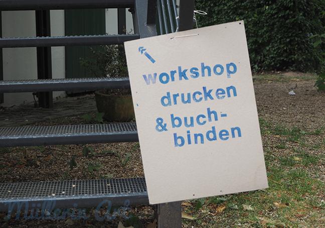 Workshop im Papiermuseum Alte Dombach ©Müllerin Art