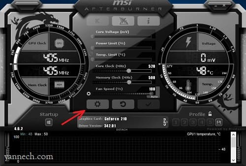 MenamSaat pilkan Suhu CPU GPU dan FPS