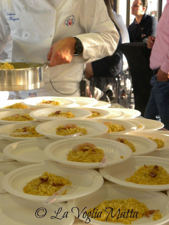 Daniele Valmarin lezione di cucina per Barcolana 46