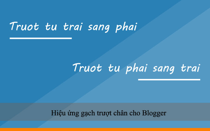 Hiệu ứng gạch trượt chân cho Blogger
