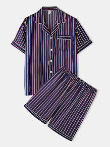jedwabna męska piżama newchic