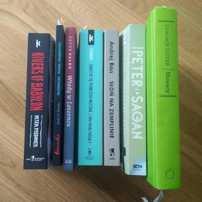 literatura slowacka zrecenzowana w 2019 rokuna blogu Slowacystka