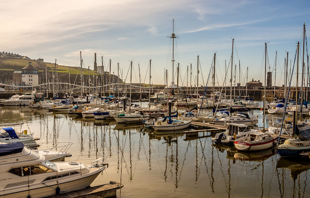 Photo of Whitehaven Marina in the sunshine