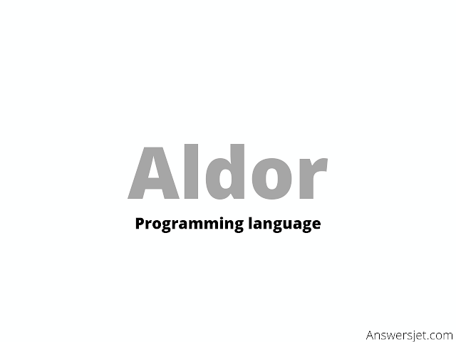 Aldor Programming Language: history, features, applications, Why learn?