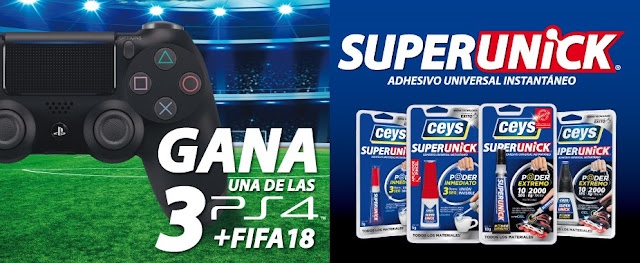Sorteo PS4 + FIFA 18 Ceys Superunick