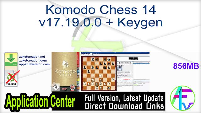 Komodo Chess 14 v17.19.0.0 + Keygen