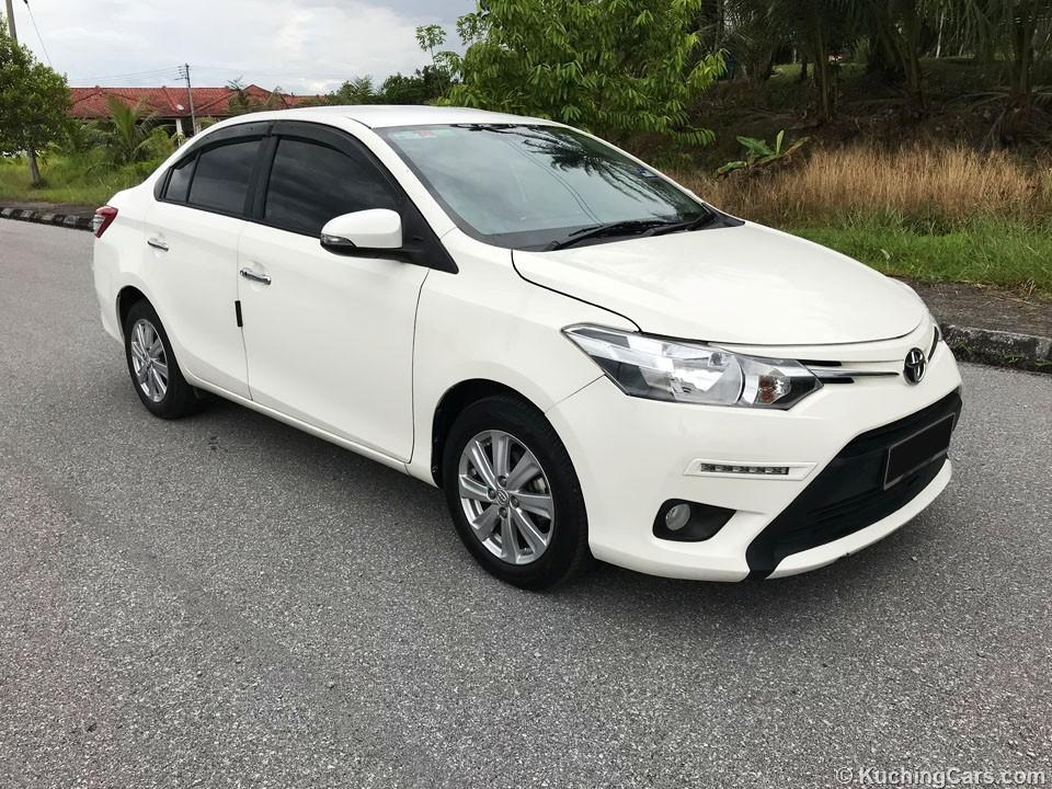 2016 toyota vios 15 e a sedan under warranty until oct