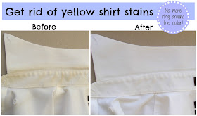 natural bleach alternative get ride of yellow collar stains mens shirts