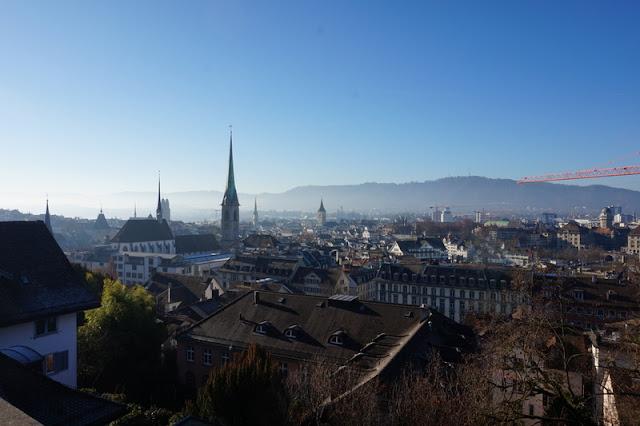 sveitsi katot kaupunki keskusta polyterassi näköala näkymä