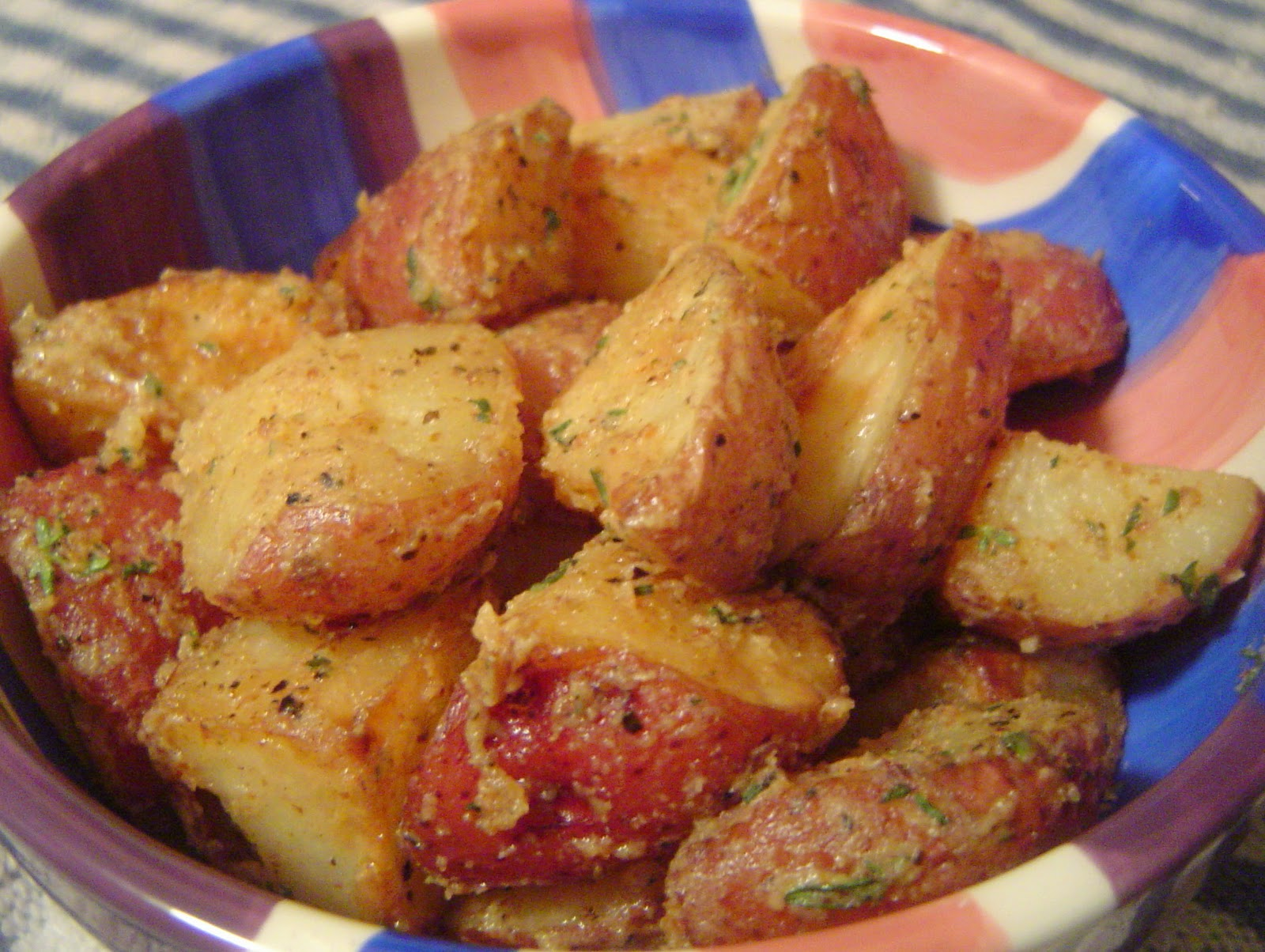 Kitten With A Whisk Roasted Red Bliss Potatoes With