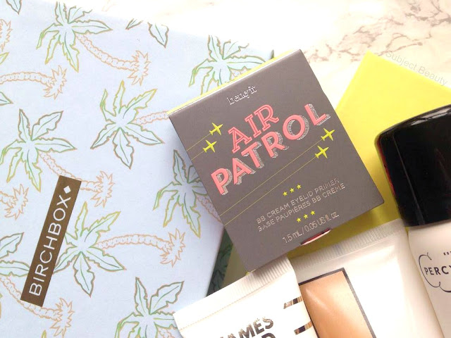 June Birchbox 2016 Benefit Air Patrol BB Cream Eyelid Primer