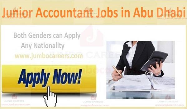Junior Accountant Jobs in Abu Dhabi UAE
