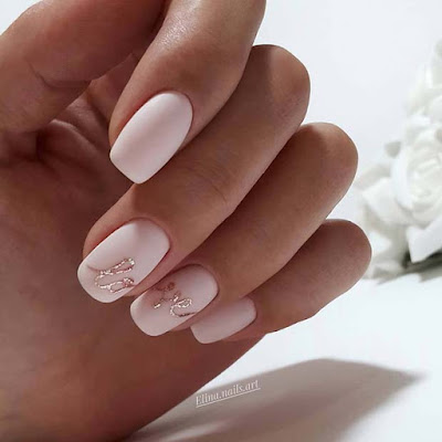 For your special event like a wedding party ✘ 34+ Amazing Ways to Wear Wedding Manicure Designs Ideas To Copy