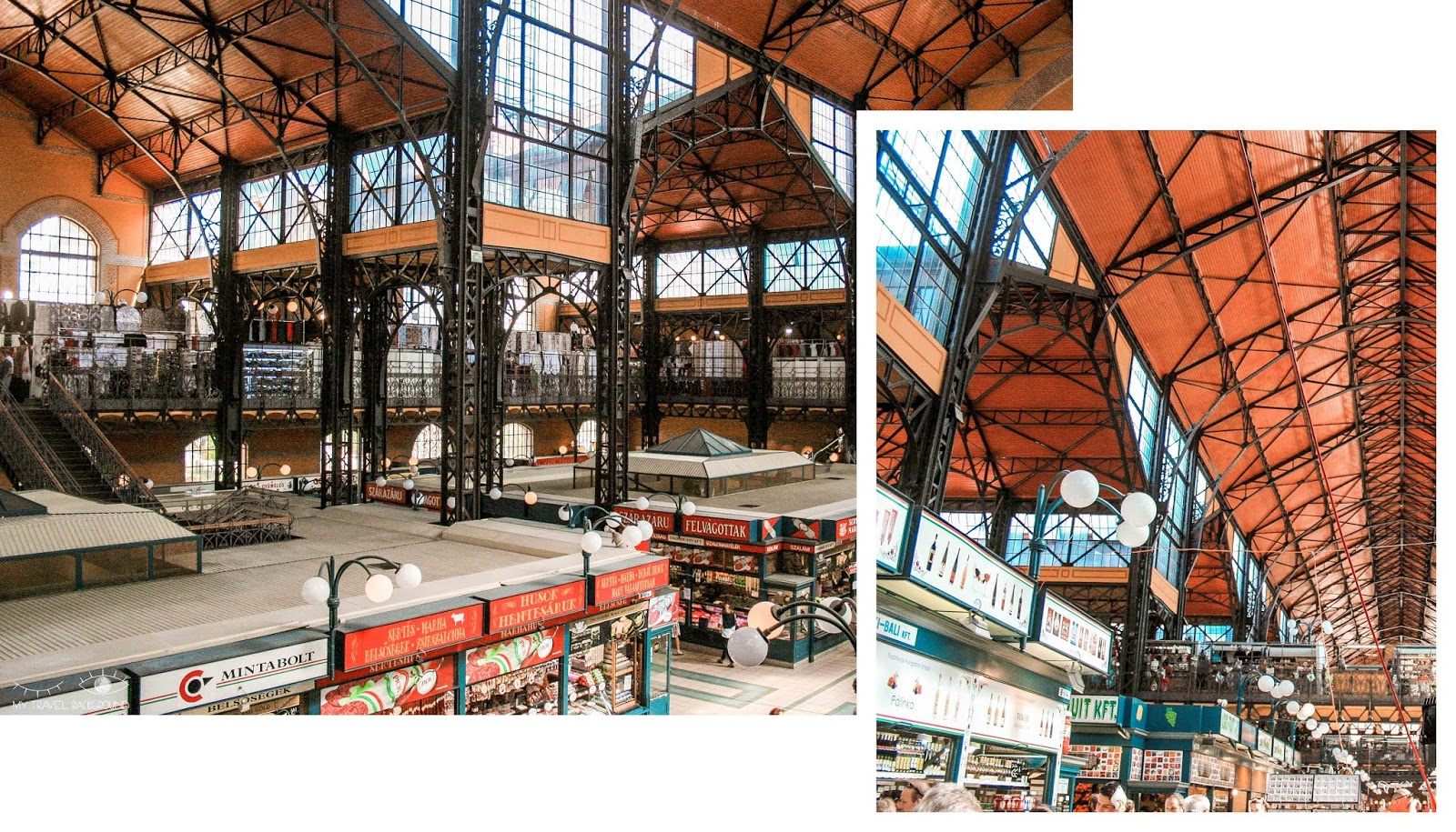 My Travel Background : 1 week-end à Budapest en Hongrie - Le marché central