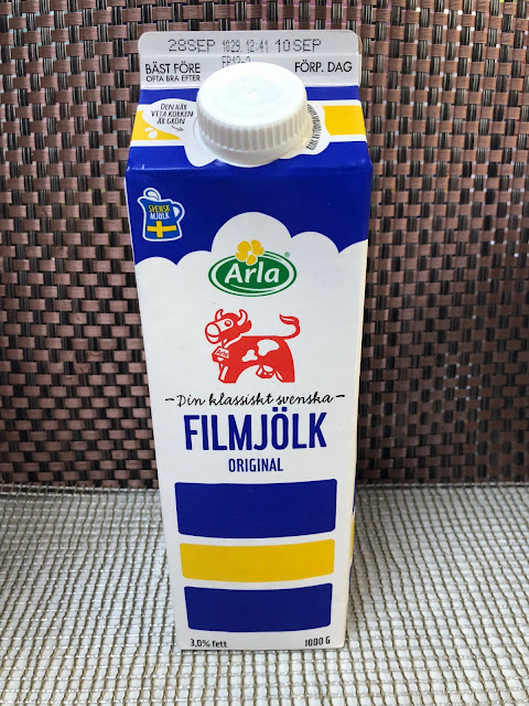 Swedish milk drink UK