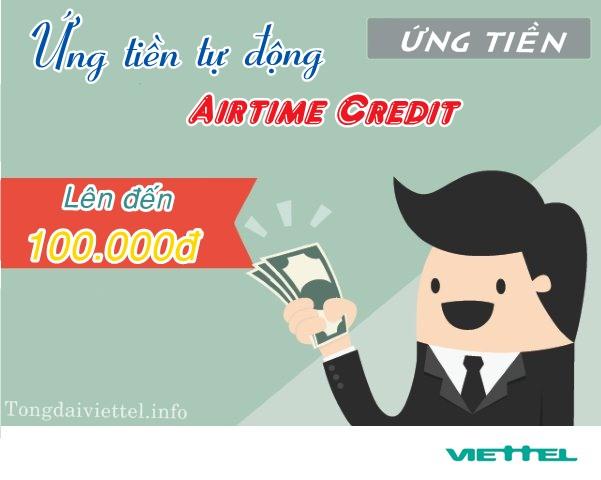 Ứng tiền Viettel tự động với dịch vụ Airtime Credit