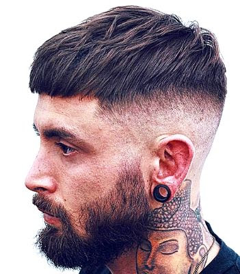35 Modern Haircut For Men in 2020 - Textured French crop