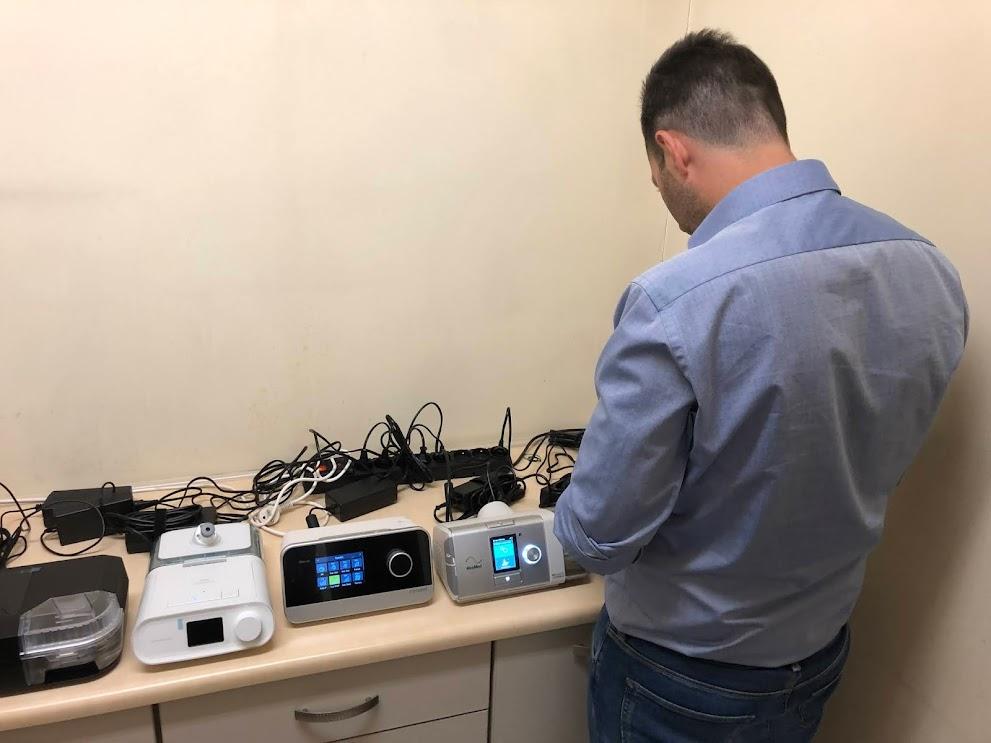Test wydajności nawilżaczy w 7 popularnych na polskim rynku aparatach CPAP