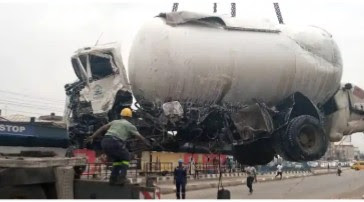 Gas Tanker Accident Kills 28-Year-Old Man In Lagos