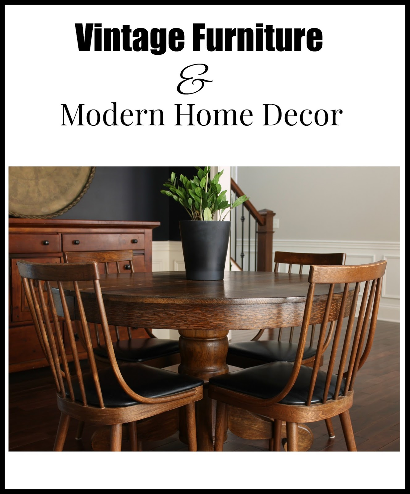 58 Water Street Vintage Furniture Modern Home Decor