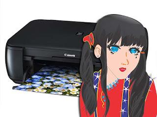 Cara Mengatasi atau Memperbaiki Printer Canon Pixma MP287 Error 5B00 P07 (Cara Reset MP287)