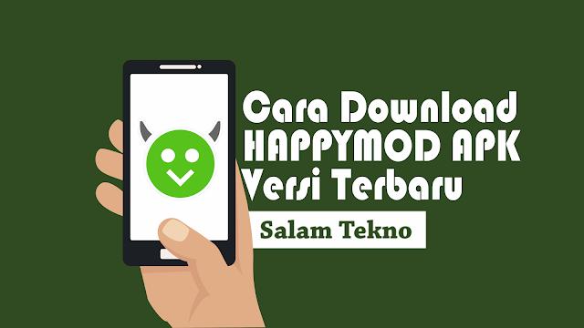 cara download happymod
