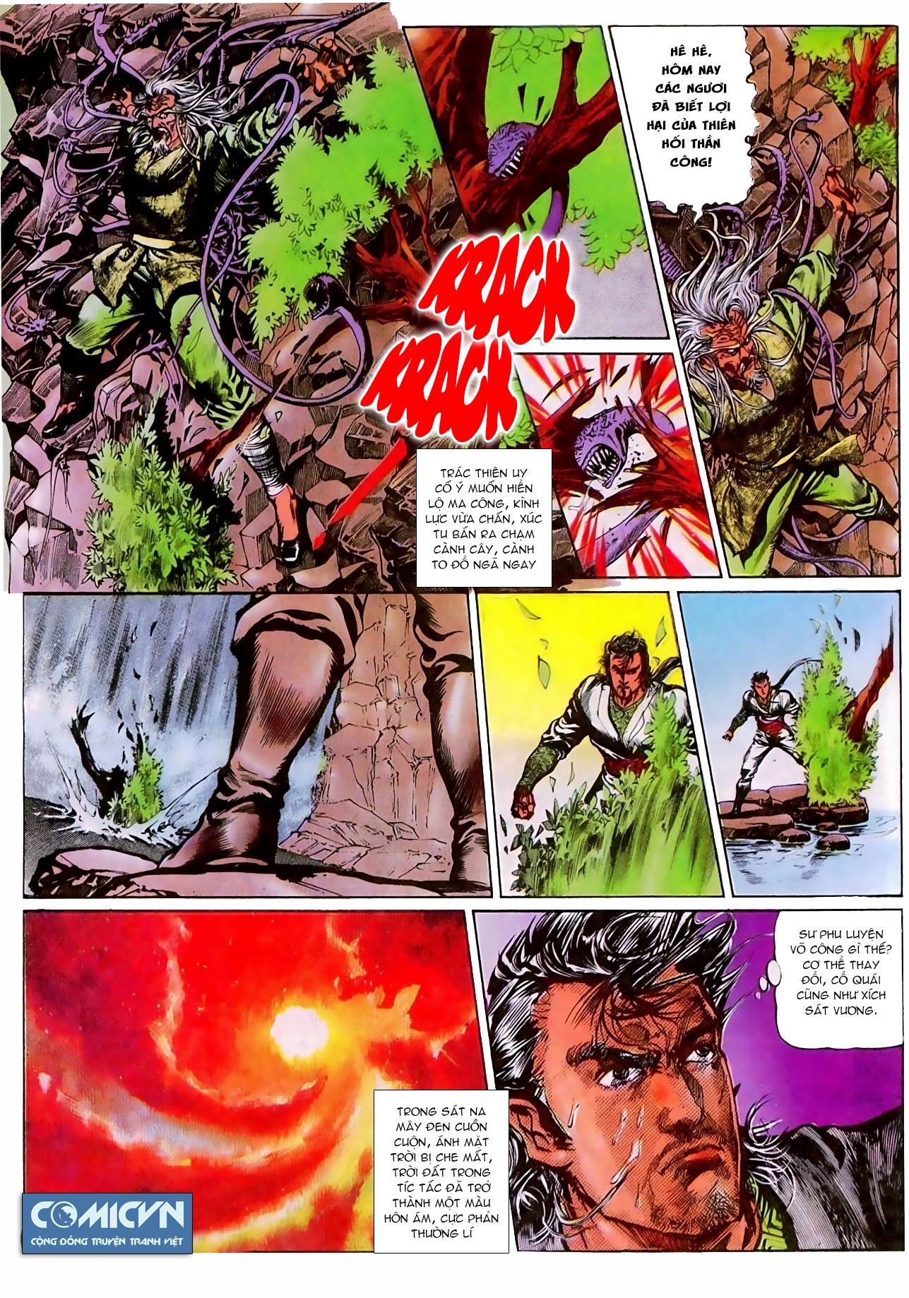Thiết Tướng Tung Hoành chap 270 - Trang 4