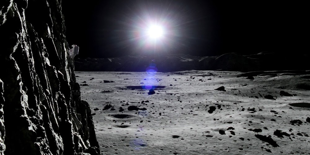 Sunrise over Lunar crater in season 2 of 'For All Mankind'