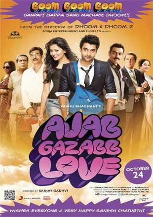 Ajab Gazabb Love 2012 Full Hindi Movie Download HDRip 720p