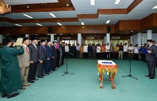 Enam Orang Non Job, 26 Pejabat Pemerintah Aceh Dimutasi