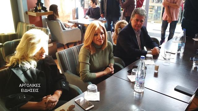 Παραγωγικές μονάδες και εμβολιαστικό κέντρο της Αργολίδας θα επισκεφθεί η Φώφη Γεννηματά