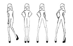 templates template clothing clothes sketch print body costume female front croquis sketches deviantart printable outline male figure realistic views illustration