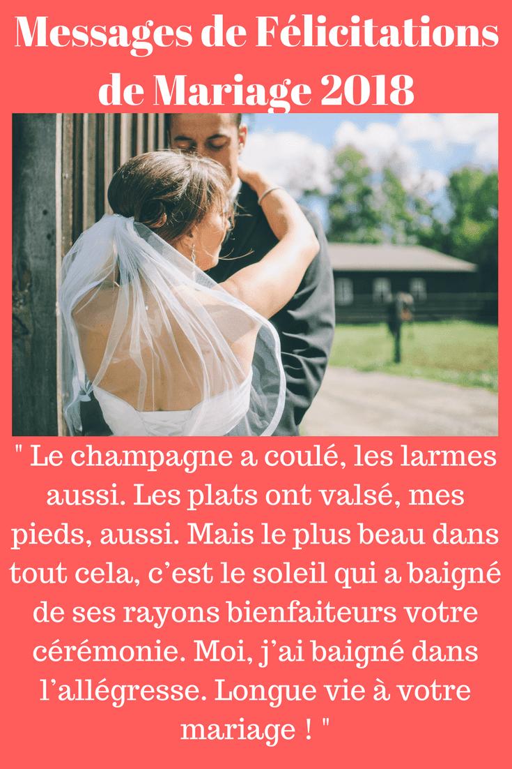33 Exemples De Texte Original De Félicitations De Mariage