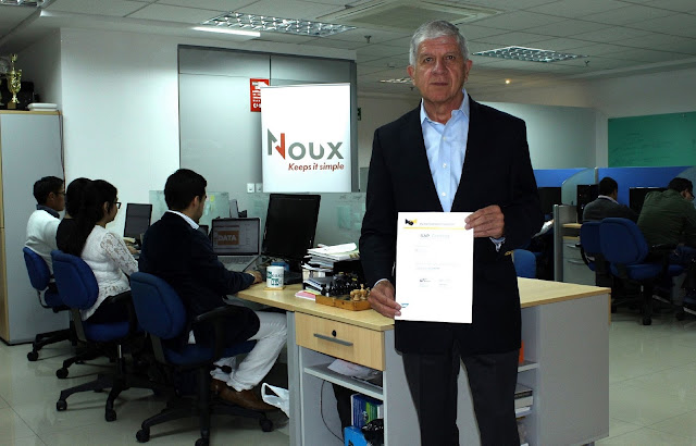 "Noux obtiene por cuarta ocasión consecutiva la certificación ""SAP Partner Center of Expertise"""