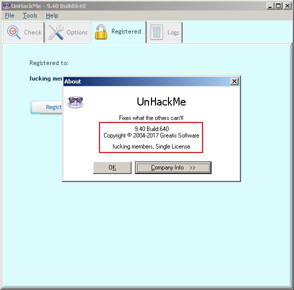télécharger UnHackMe 9.40.0.640 Crack