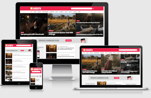 Assifa Mag Premium Responsive Blogger Template